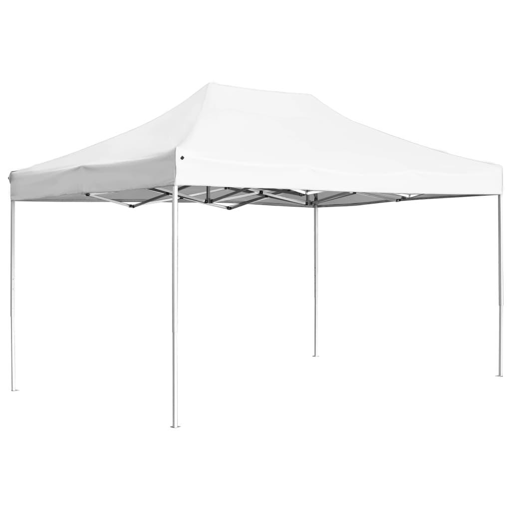 vidaXL Cort de petrecere pliabil profesional, alb, 4,5x3 m, aluminiu poza vidaxl.ro