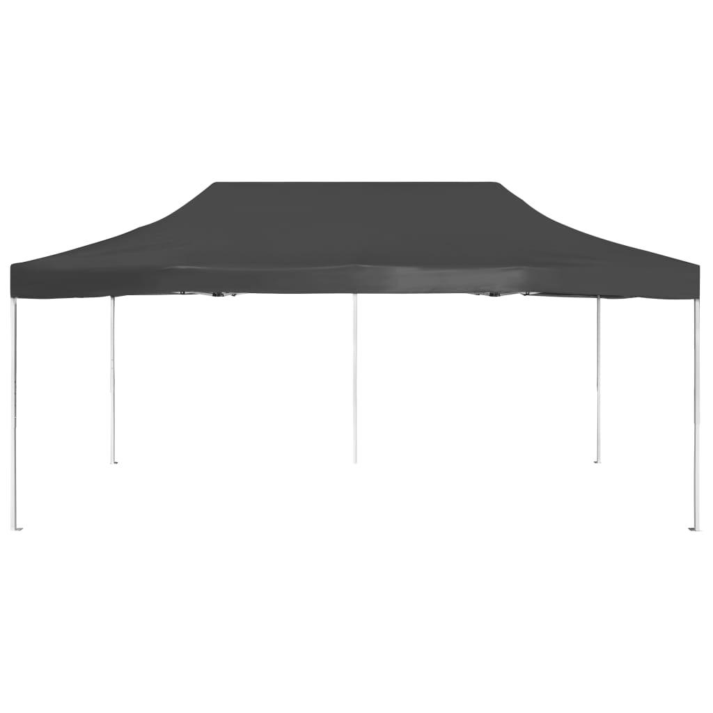 vidaXL Partytent professioneel inklapbaar 6x3 m aluminium antraciet huis tuin tuin en gazon