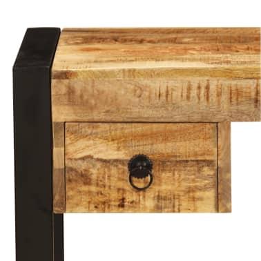 "vidaXL Desk with 2 Drawers 43.3""x19.7""x30.3"" Solid Mango Wood[4/14]"