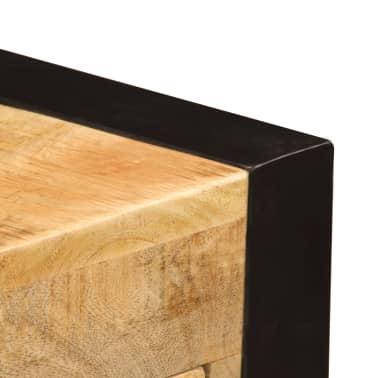 "vidaXL Desk with 2 Drawers 43.3""x19.7""x30.3"" Solid Mango Wood[7/14]"