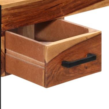 vidaXL Desk with 2 Drawers 110x50x77 cm Solid Sheesham Wood[6/13]