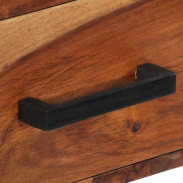 vidaXL Desk with 2 Drawers 110x50x77 cm Solid Sheesham Wood[7/13]