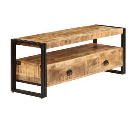 vidaXL TV Cabinet 120x35x45 cm Solid Mango Wood[2/15]