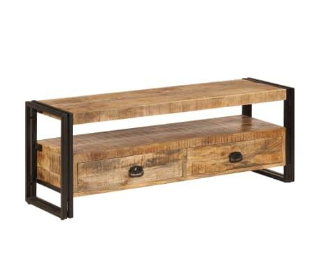 vidaXL TV Cabinet 120x35x45 cm Solid Mango Wood[11/15]