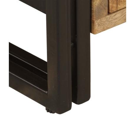 vidaXL TV Cabinet 120x35x45 cm Solid Mango Wood[9/15]