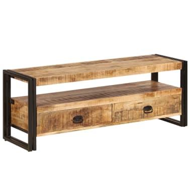 vidaXL TV Cabinet 120x35x45 cm Solid Mango Wood[13/15]