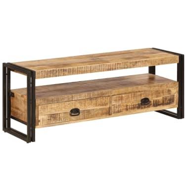 vidaXL TV Cabinet 120x35x45 cm Solid Mango Wood[15/15]