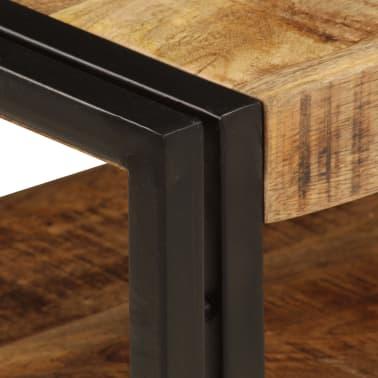 vidaXL TV Cabinet 120x35x45 cm Solid Mango Wood[4/15]