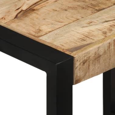 vidaXL Nesting Tables 3 pcs Solid Mango Wood[6/13]