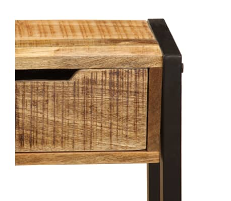 "vidaXL Sideboard with 3 Drawers 43.3""x13.8""x29.5"" Solid Mango Wood[7/12]"