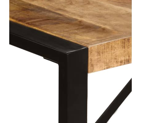 "vidaXL Dining Table 86.6""x39.4""x29.5"" Solid Mango Wood[3/11]"