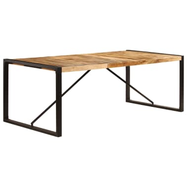 "vidaXL Dining Table 86.6""x39.4""x29.5"" Solid Mango Wood[11/11]"
