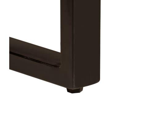 vidaXL Jedilna miza 200x100x75 cm trden predelani les[5/12]