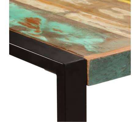 vidaXL Eettafel 180x90x75 cm massief gerecycled hout[3/11]