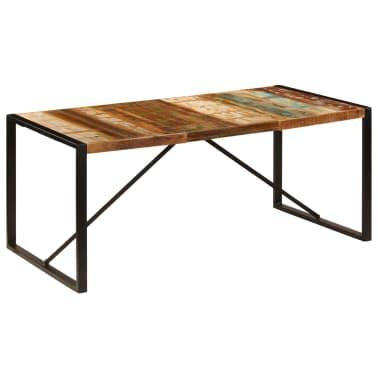 vidaXL Eettafel 180x90x75 cm massief gerecycled hout[9/11]
