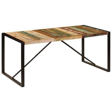 vidaXL Eettafel 180x90x75 cm massief gerecycled hout[10/11]