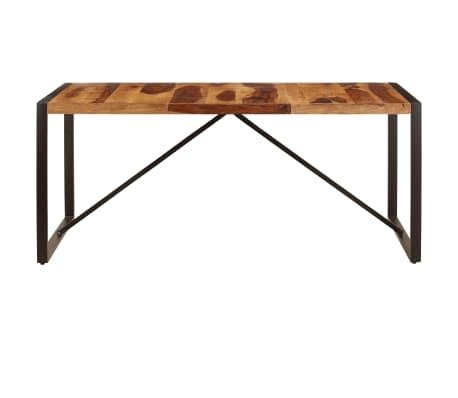 "vidaXL Dining Table 70.9""x35.4""x29.5"" Solid Sheesham Wood[2/11]"