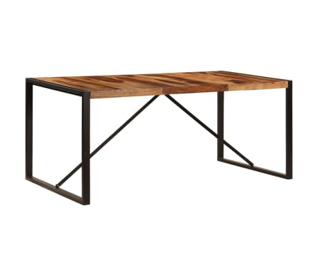 "vidaXL Dining Table 70.9""x35.4""x29.5"" Solid Sheesham Wood[11/11]"