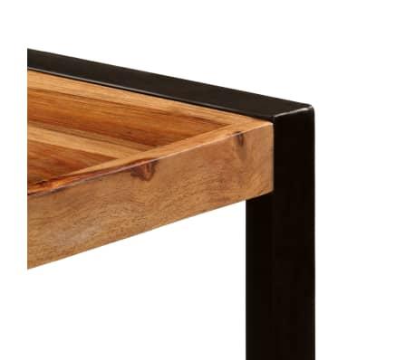 "vidaXL Dining Table 70.9""x35.4""x29.5"" Solid Sheesham Wood[3/11]"