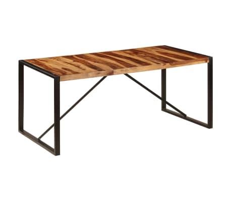 "vidaXL Dining Table 70.9""x35.4""x29.5"" Solid Sheesham Wood[9/11]"