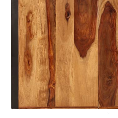 "vidaXL Dining Table 70.9""x35.4""x29.5"" Solid Sheesham Wood[5/11]"