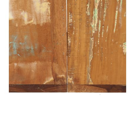 vidaXL Valgomojo stalas, 160x80x75cm, perdirbtos medienos masyvas[5/14]