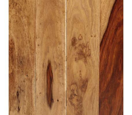 "vidaXL Dining Table 63""x31.5""x29.5"" Solid Sheesham Wood[7/13]"