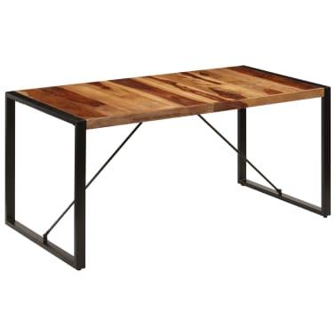 "vidaXL Dining Table 63""x31.5""x29.5"" Solid Sheesham Wood[13/13]"