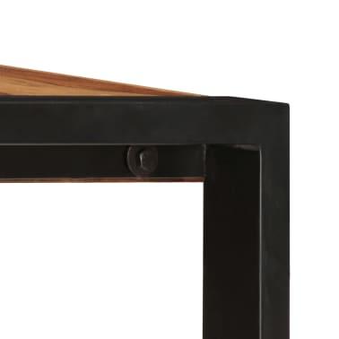 "vidaXL Dining Table 63""x31.5""x29.5"" Solid Sheesham Wood[4/13]"