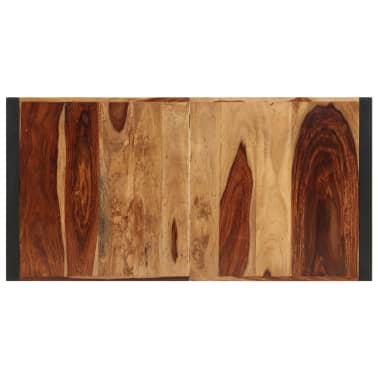 "vidaXL Dining Table 63""x31.5""x29.5"" Solid Sheesham Wood[6/13]"