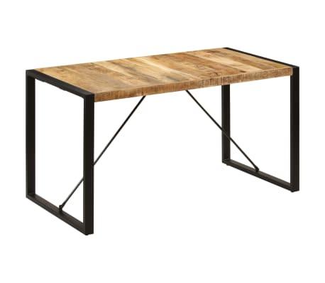 "vidaXL Dining Table 55.1""x27.6""x29.5"" Solid Mango Wood[1/13]"