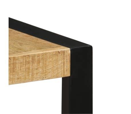 "vidaXL Dining Table 55.1""x27.6""x29.5"" Solid Mango Wood[5/13]"