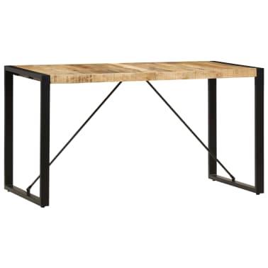 "vidaXL Dining Table 55.1""x27.6""x29.5"" Solid Mango Wood[13/13]"