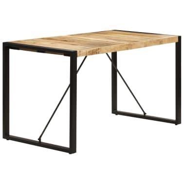 "vidaXL Dining Table 55.1""x27.6""x29.5"" Solid Mango Wood[3/13]"
