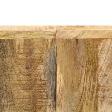 "vidaXL Dining Table 55.1""x27.6""x29.5"" Solid Mango Wood[6/13]"