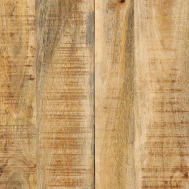 "vidaXL Dining Table 55.1""x27.6""x29.5"" Solid Mango Wood[7/13]"