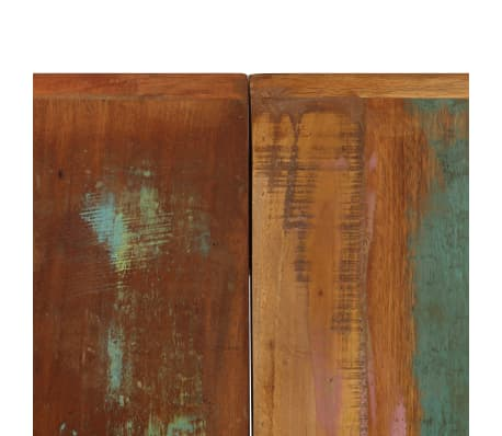 vidaXL Dining Table 140x70x75 cm Solid Reclaimed Wood[6/13]