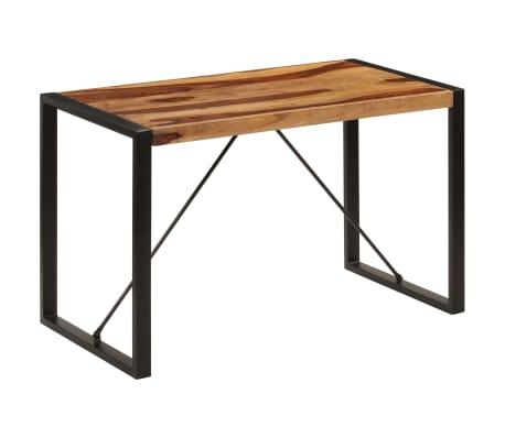 "vidaXL Dining Table 47.2""x23.6""x29.9"" Solid Sheesham Wood[1/12]"