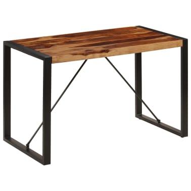 "vidaXL Dining Table 47.2""x23.6""x29.9"" Solid Sheesham Wood[11/12]"