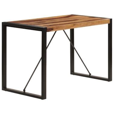 "vidaXL Dining Table 47.2""x23.6""x29.9"" Solid Sheesham Wood[3/12]"