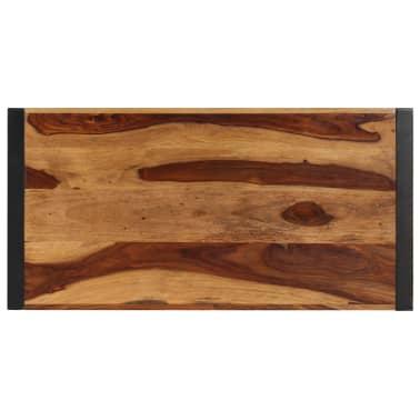 "vidaXL Dining Table 47.2""x23.6""x29.9"" Solid Sheesham Wood[4/12]"