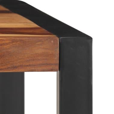 "vidaXL Dining Table 47.2""x23.6""x29.9"" Solid Sheesham Wood[5/12]"