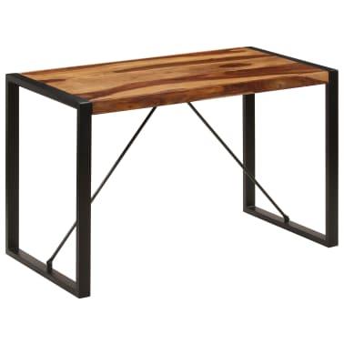 "vidaXL Dining Table 47.2""x23.6""x29.9"" Solid Sheesham Wood[10/12]"