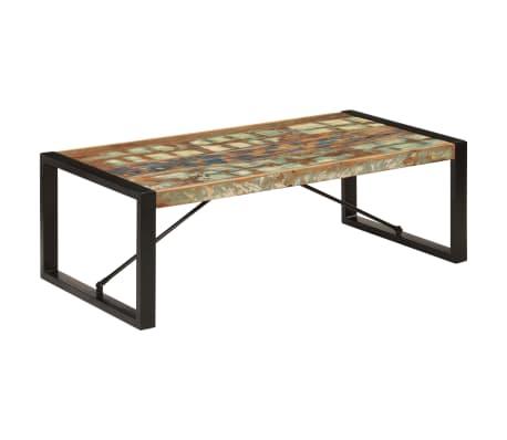 vidaXL Konferenční stolek 120 x 60 x 40 cm masivní recyklované dřevo