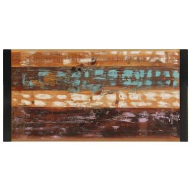 vidaXL Kavos staliukas, 120x60x40 cm, perdirbtos medienos masyvas[3/10]