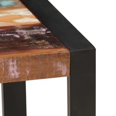 vidaXL Kavos staliukas, 120x60x40 cm, perdirbtos medienos masyvas[4/10]