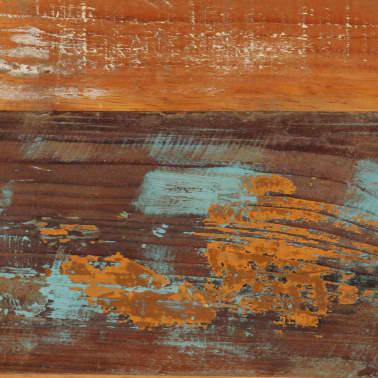 vidaXL Kavos staliukas, 120x60x40 cm, perdirbtos medienos masyvas[5/10]