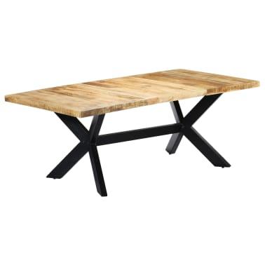 "vidaXL Dining Table 78.7""x39.4""x29.5"" Solid Mango Wood[1/11]"