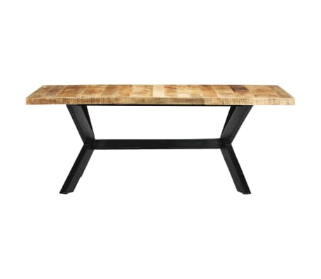 "vidaXL Dining Table 78.7""x39.4""x29.5"" Solid Mango Wood[2/11]"