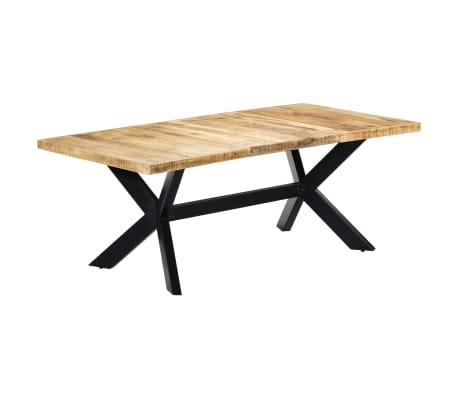 "vidaXL Dining Table 78.7""x39.4""x29.5"" Solid Mango Wood[8/11]"